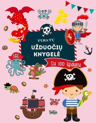 Piratų užduočių knygelė. Su 100 lipdukų