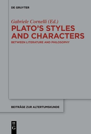 Plato's Styles and Characters