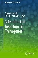 Site-directed insertion of transgenes