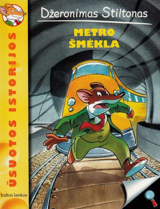 Džeronimas Stiltonas: Metro šmėkla
