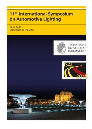 11th International Symposium on Automotive Lighting - ISAL 2015 - Proceedings of the Conference