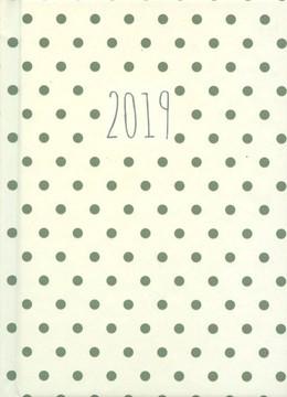 Darbo kalendorius TAŠKUOTAS (baltas) 2019 A5