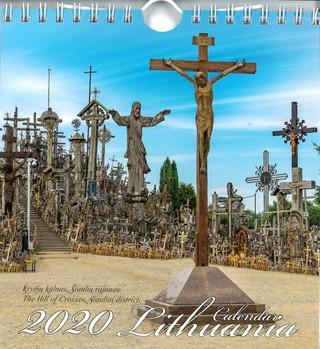 Lietuva. Atvirukai. 2020 m. kalendorius (Kryžių kalnas)