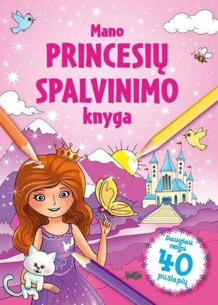 Mano princesių spalvinimo knyga
