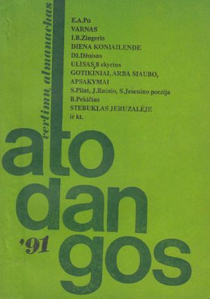 Atodangos '91. Vertimų almanachas