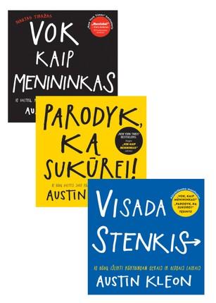 Trijų dalių A. Kleono kūrybiškumo manifestas: VISADA STENKIS! +  PARODYK KĄ SUKŪREI! + VOK KAIP MENININKAS