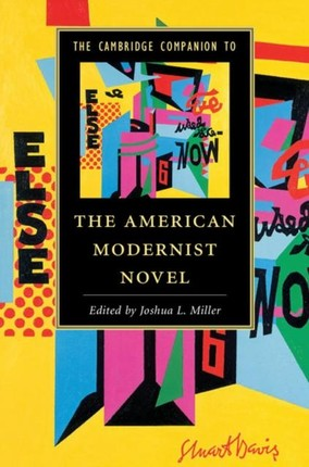 Cambridge Companion to the American Modernist Novel