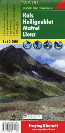 Kals - Heiligenblut - Matrei - Lienz 1 : 50 000