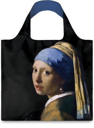 "LOQI pirkinių krepšys ""Johannes Vermeer: Girl with a Pearl Earring"""