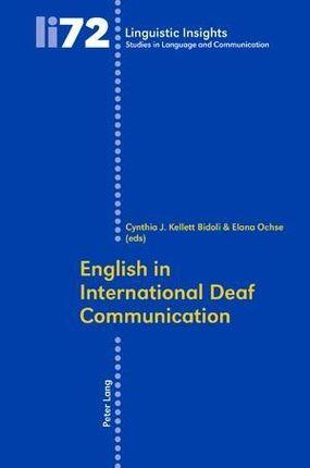 English in International Deaf Communication