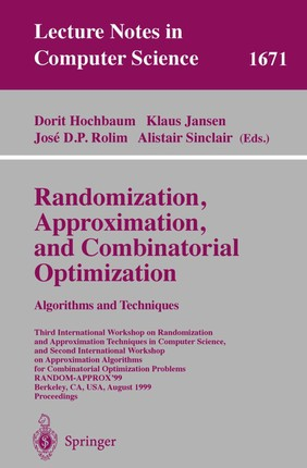 Randomization, Approximation, and Combinatorial Optimization