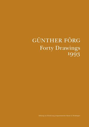 Forty Drawings 1993