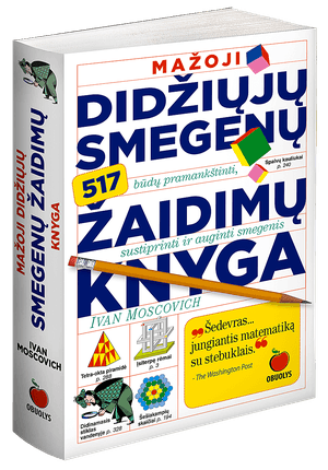 Mažoji didžiųjų smegenų žaidimų knyga