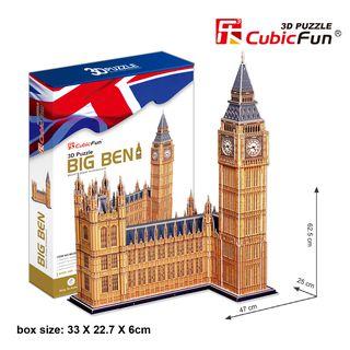 3D dėlionė: Big Benas (116)