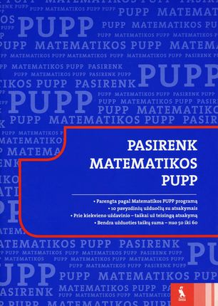 Pasirenk matematikos PUPP