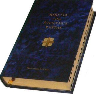 Biblija arba Šventasis Raštas. Ekumeninis leidimas