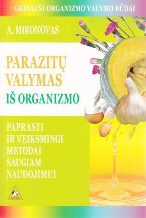 Parazitų valymas iš organizmo