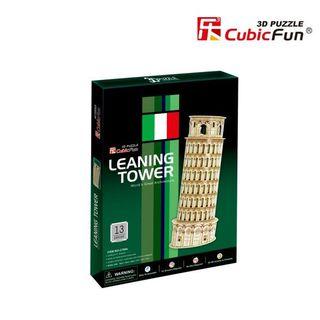 3D dėlionė: Pizos bokštas