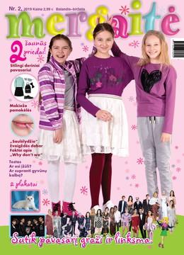 Mergaitė. Žurnalas. Nr 2 2019