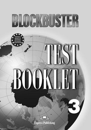 Blockbuster 3. Test booklet. Testų knygelė