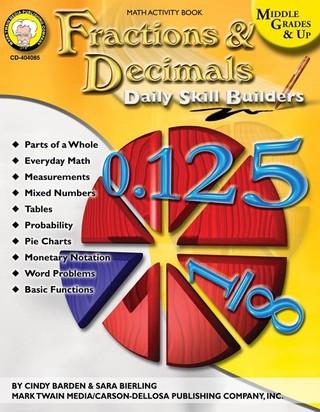Fractions & Decimals, Grades 6 - 12