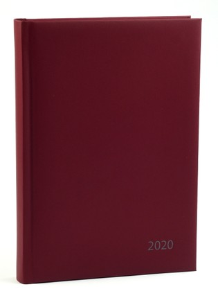 Darbo kalendorius 2020 m. A5 (bordo)