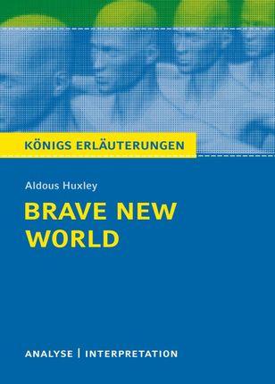 Brave New World - Schöne neue Welt von Aldous Huxley.
