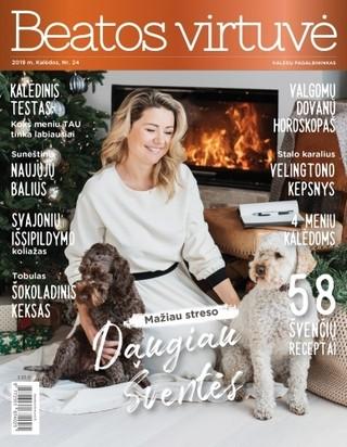 Beatos virtuvė. Žurnalas. 2019 m. Kalėdos Nr. 24
