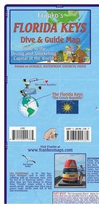 Franko Map Florida Keys Guide Map