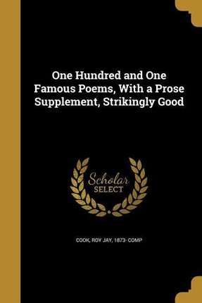 101 FAMOUS POEMS W/A PROSE SUP