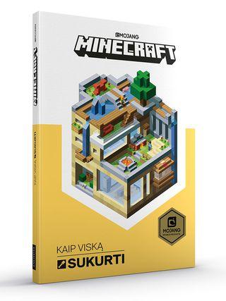Minecraft. Kaip viską sukurti  (knyga su defektais)