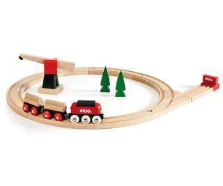 BRIO traukinys krovininis medinis, 33010