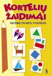 Kortelių žaidimai. Geometrinės figūros