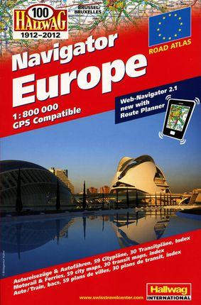 Europos kelių atlasas. M 1:800 000