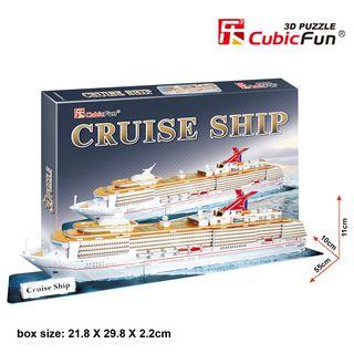 3D dėlionė: kruizinis laivas