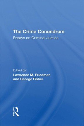 The Crime Conundrum