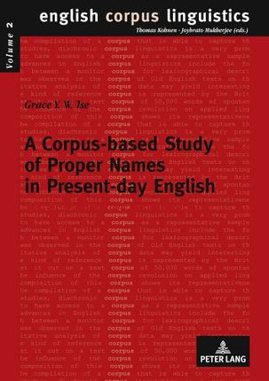 A Corpus-based Study of Proper Names in Present-day English