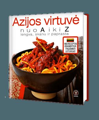 Azijos virtuvė nuo A iki Z
