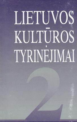 Lietuvos kultūros tyrinėjimai 2