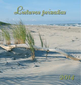 """2014 metų kalendorius """"Lietuvos peizažas"""""""