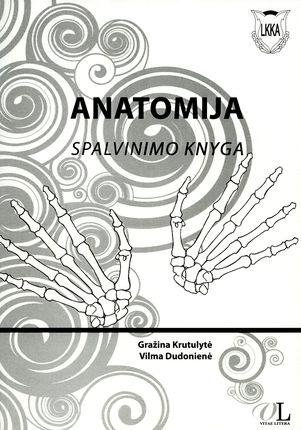 Anatomija. Spalvinimo knyga