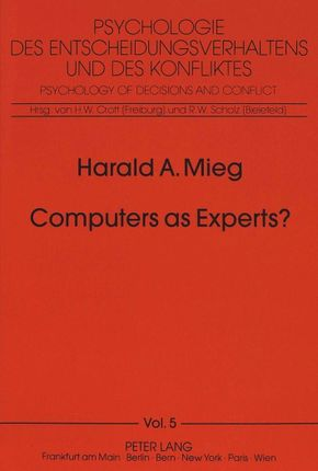 Computers as Experts?