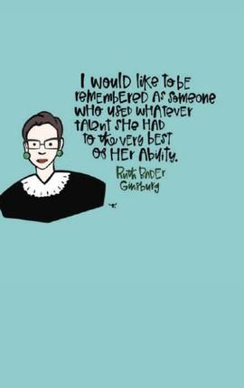 Ruth Bader Ginsburg Journal