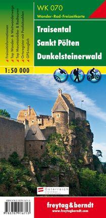 Traisental - St. Pölten - Dunkelsteinerwald, Wanderkarte 1:50.000