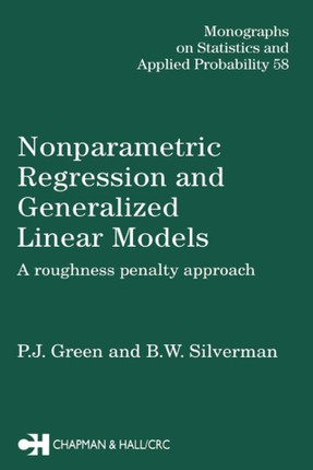 Nonparametric Regression and Generalized Linear Models