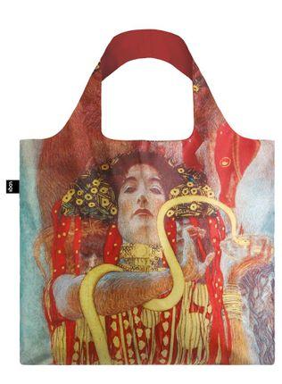 "LOQI pirkinių krepšys ""GUSTAV KLIMT Hygieia, 1900"""
