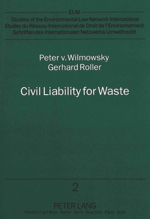 Civil Liability for Waste