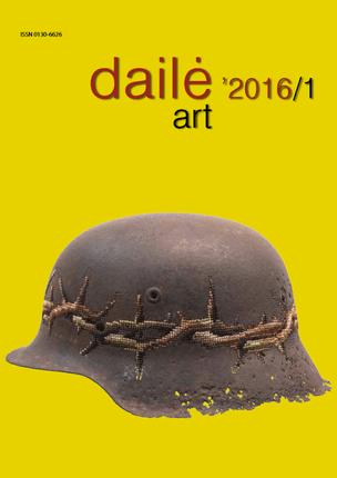 Dailė. Art 2016/1