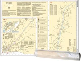 Einzelkarte Nord-Ostsee-Kanal (Ausgabe 2021)