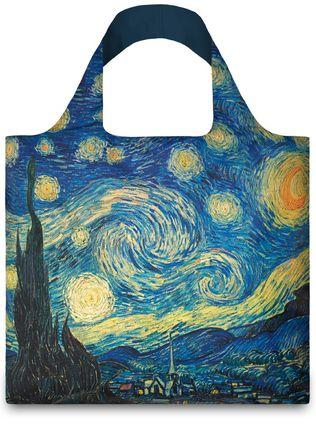 "LOQI pirkinių krepšys ""Vincent van Gogh: The Starry Night"""